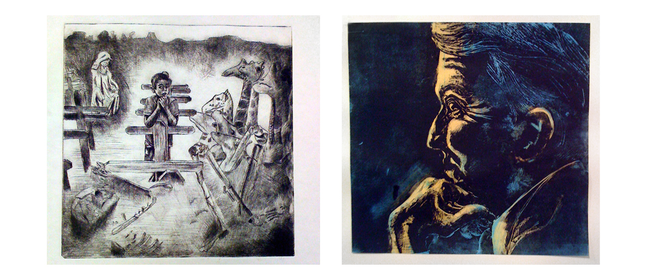 Student Work: Printmaking